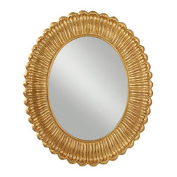 Murray Feiss - Murray Feiss MR1118PAG Emmet Pale Antique Gold Mirror - Murray Feiss MR1118PAG Emmet Pale Antique Gold Mirror
