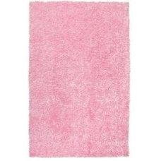 Rugs Hand-woven Pink Ferta Soft Shag Rug (8' x 10')
