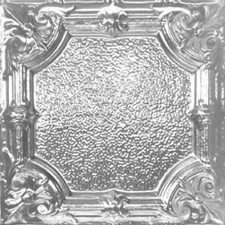 """Decorative Ceiling Tiles - Manor Hall - Tin Ceiling Tile - 24""""x24"""" - #2451 - Find copper, tin, aluminum and more styles of real metal ceiling tiles at affordable prices . We carry a huge selection and are always adding new style to our inventory."""