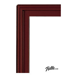 EnduraClad® Exterior Finish in Cranberry - Available on Pella Architect Series® and Designer Series® wood windows and patio doors, EnduraClad exterior finishes offer 27 standard and virtually unlimited custom color options.