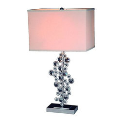 "All the Rages - All the Rages LT1027 Elegant Designs 26"" Height 1 Light Table Lamp - Specifications:"