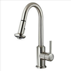 Vigo - VIGO VG02012ST Kitchen Faucet - You deserve a high-performing kitchen - why not start with a VIGO faucet for your sink?