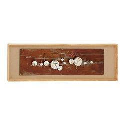 Unique and Distinctive Wood Frame Wall Art - Description: