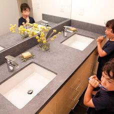 Modern Bathroom by Alden Miller Interiors