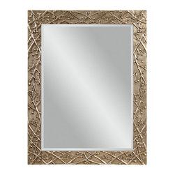 Bassett Mirror - Bassett Mirror Panache Wall Mirror M3403BEC - Bassett Mirror Panache Wall Mirror M3403BEC