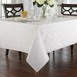 Waterford for Bloomingdale's Highgate Tablecloth -