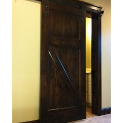 traditional interior doors by NW Artisan Hardware