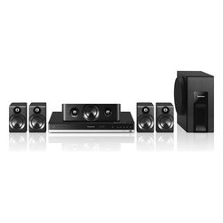 Panasonic - 600W (RMS) Smart Network 3D Blu-Ray Disc Home Theatre System - The new Panasonic SC-BTT405 incorporates Panasonic's renowned Full HD 3D image reproduction technology to play back dynamic 3D movies faithful to the original- It is packed with advanced Panasonic sound technologies that fill a room with a natural, dynamic bass- The 5.1-Channel rich surround system includes a powerful subwoofer and faithfully reproduces sound, with all nuances intact- This model delivers truly realistic, high-quality surround sound to enhance the exciting climactic scenes in movies- The new Smart Network supports popular Internet applications including YouTube, Netflix and Cinema Now- Additionally, this model has Built-In near field communication (NFC) capability, which enables a compatible smartphone to easily pair with the device via Bluetooth- A user simply waves the smartphone over the one-touch connection mark on the main unit to establish a connection to play their music