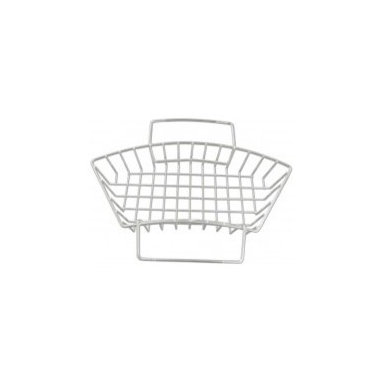 "14"" X 5.5"" Rinsing Basket In Stainless Steel - The perfect accessory for your Native Trails Luna copper sink, this rinsing basket sets nicely on the sink for rinsing and prepping food."