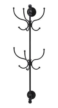 """Imax - Lamar Wall Coat Rack - *Dimensions: 43.5""""h x 10.75""""w x 13.75"""""""