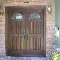 Entry Doors - Traditional -