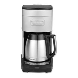 Cuisinart 10-Cup Extreme Brew Elite Coffee Maker with Thermal Carafe - I've had my Cuisinart coffee maker for over five years now, and it still makes some of the best coffee I've ever had. Treat your counter to some sleek, beautiful design with this 10-cup beauty.