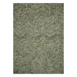 Loloi Rugs - Loloi Rugs PRSIPQ-01SN005076 Persie Stone Modern/Contemporary Hand-Tufted Rug - Hand-tufted in India, the Persie Collection adds the captivating element of texture your room has been missing through a brilliant fusion of looped yarn and cut pile. To counterbalance the attention grabbing texture, its subtle tonal colors ensure seamless integration with virtually any decor. What's more, Persie's ample New Zealand and regular wool blend pile feels heavenly underfoot, so you get the best of both style and substance.