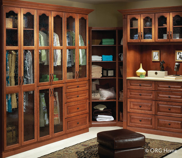 Eclectic Closet Organizers by Home Source Custom Draperies & Blinds