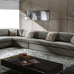Boston Signature Microfiber Sectional - Bring a timeless, versatile, and comfortable addition to your home furniture collection with this Boston Classic Fabric Sectional.