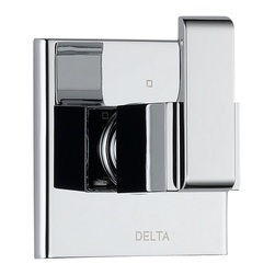 Delta 3 Setting Diverter - T11886 - Inspired by geometric designs found in mid-century modern furniture, Arzo makes a bold statement in understated fashion.