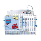 Trend Lab Dr. Seuss One Fish Two Fish 4-Piece Crib Bedding Set