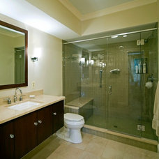 Traditional Bathroom by Gilday Renovations Design Build