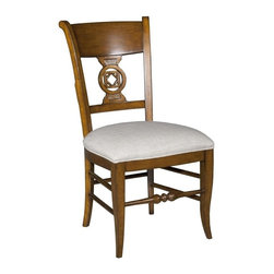 EuroLux Home - New Side Chair Brown/Beige/Tan Santa Fe - Product Details