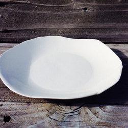 White Dinner Plate -