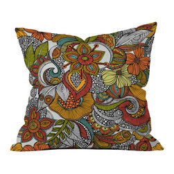 Valentina Ramos Ava Outdoor Throw Pillow - Do you hear that noise? it's your outdoor area begging for a facelift and what better way to turn up the chic than with our outdoor throw pillow collection? Made from water and mildew proof woven polyester, our indoor/outdoor throw pillow is the perfect way to add some vibrance and character to your boring outdoor furniture while giving the rain a run for its money.