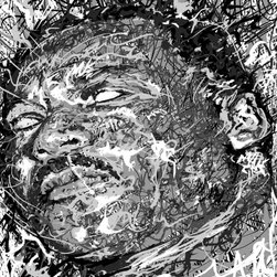 """overstockArt.com - Pierson - Martin Luther King Jr - Martin Luther King Jr is a portrait is of a famous American pastor activist humanitarian and leader in the African-American Civil Rights. The portrait is a part of Jeffery Piersons ongoing ICON series. Jeffrey F Pierson was born 1974 in Newton, New Jersey. When asked about his work he describes: """"My work reflects my dreams, memories, and the world as I perceive it. It is my great hope and intention that my imagery be a catalyst, sparking the synapses in an unlit mind. Breaking the bonds of mental lethargy, and inspiring the viewer to see, to think, to feel."""""""