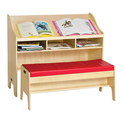 Guidecraft - Guidecraft Study Center with Bench - Guide craft - Computer desks - G6304