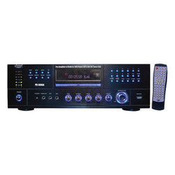 "PYLE - PYLE PD3000A 3000 Watt AM-FM Receiver with Built-In DVD-MP3-USB - The Pyle Home PD3000A enhances your home audio/video system with a lot ofPower for not a lot of money. Boasting a 3000 watts of power, it willPower up to four speakers. It has separate gain controls for a DVD player, tuner, devices connecting via USB, and portable MP3 players. Receiver works as a rack mount or stand alone.      Powers 4 Loud Speakers.    Separate Gain Control for DVD/ Tuner/ USB/ MP3.    Multi Media Disc Formats Compatible (DVD/CD/VCD/CD-R/CD-RW/MP4).    Digital Colorful Fluorescent Display.    50 Stations AM/FM Memory Presets, Auto Station Seek/Store.    AUX Input ( iPod/MP3 with Cable).    USB Reader Function (For Use with Portable USB Drives).    AM/FM Quartz Synthesized Radio Tuner.    VisualPower Level DB Display.    Subwoofer Line Audio Output.    A/B Audio Switch.    RGB/RCA/S-Video Outputs.    3000 Watts Peak Power.    300 Watts x 2 @ 8 Ohms.    550 Watts x 2 @ 4 Ohms.    800 Watts x 2 @ 2 Ohms.    110/220 Volt SwitchablePower Source.    Unit Dimensions: 16.92""W x 5.12""H x 12""D.     Model: PD3000A"