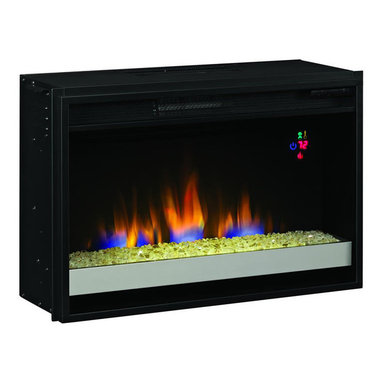"""Classic Flame - Classic Flame 26"""" Contemporary Electric Fireplace Insert in Black - Classic Flame - Fireplace Inserts - 26EF023GRG"""