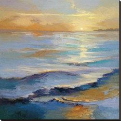 Artcom - Ocean Overture by Vicki Mcmurry Artwork - Ocean Overture by Vicki Mcmurry is a Stretched Canvas Print.