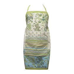 Botanical Apronts - These botanical-themed aprons are beautiful and useful. I love that they have a nice wide pocket for stowing utensils, recipes, ingredients or whatever. I keep my apron out for everyone to see so it would be great to have such a pretty one on display. The only problem I can think if is that I would hate to spill all over it and wipe my dirty hands!