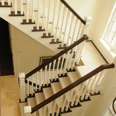 Traditional Staircase by HUSH