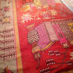Organic and Textural - Khotan Rug By Madison Lily