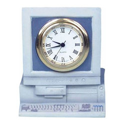 WL - 2 Inch Pre 2000 Computer Terminal and Monitor Quartz Mini Clock - This gorgeous 2 Inch Pre 2000 Computer Terminal and Monitor Quartz Mini Clock has the finest details and highest quality you will find anywhere! 2 Inch Pre 2000 Computer Terminal and Monitor Quartz Mini Clock is truly remarkable.