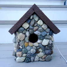 Rustic Birdhouses by Live In Mosaics