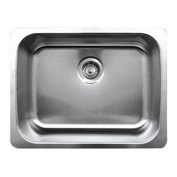 Whnu2318 Noah's Single Bowl Sink - Single bowl undermount sink