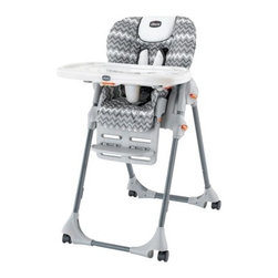 Chicco Polly SE High Chair, Perseo - Baby must-haves keep getting cuter and cuter. I wish I had this stylish pattern when my babies were little. This is one of my favorite high chairs. I love it.