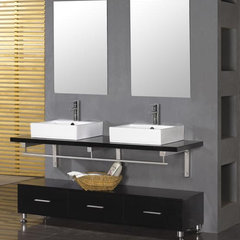 bathroom vanities and sink consoles by ExpressDecor.com