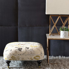 Modern Footstools And Ottomans by Eastern Accents