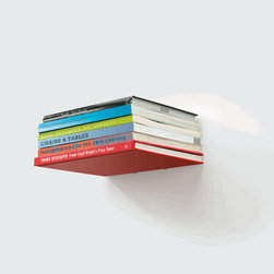Conceal Book Shelf - The slimmest profile and least obtrusive form, this shelf lets the books speak for themselves. They're small, and enable you to use them in any way that works for you.