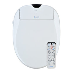 Brondell - Brondell 1000 Electronic Toilet Seat, White, Round - Brondell Swash 1000 round Shape, White Color S1000RW - Electronic Toilet Seat Bidet. Easily Replaces Most round Toilet Seats. Brondell bidets will not fit the Kohler San Raphael or the Kohler Rialto models. *Special Bonus: 3 free water filters - The award winning Swash 1000 is the ultimate in bathroom comfort and hygiene. Inside the sleek design and elegant styling, it is packed with features to provide you with a complete home spa experience. Brondell Swash 1000 Series.