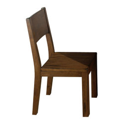 Jofran - Jofran 252-736KD Braeburn Cranmore Solid Wood Side Chair in Cherry [Set of 2] - Combining traditional details with modern designs, Jofran has a collection to compliment any home decor. This Braeburn Cranmore solid wood side chair belongs to 252 series - Braeburn rough hewn cherry collection by Jofran inc. The classic formulas of color combinations are not valid in Jofran furniture territory: here is ruled by laws solely of your own preferences and fantasies. Huge selection of colors in combination with a wide choice of shapes and sizes allow you to find among this variety precisely the furniture you've always wanted to see in your home. Jofran furniture offers high quality, casual furniture pieces that are constructed from premium Asian hardwoods, and finished with beautiful veneers. Durable materials and quality assembly will help your furniture to serve for many years and will not let you be disappointed in your choice.