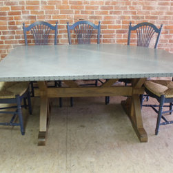 Zinc Tables by Lake And Mountain Home - Http://www.lakeandmountainhome