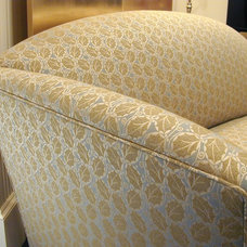 Eclectic Upholstery Fabric by SOLILOQUY TEXTILES LLC