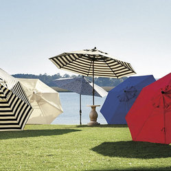 9-Foot Auto Tilt Patio Umbrella