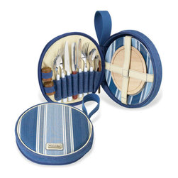 Picnic at Ascot - Aegean Deluxe Travel Picnic Set - Features: