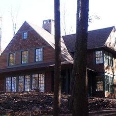 Traditional Exterior by Robert Wilkanowski Architect, PC