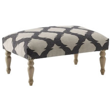 Mediterranean Ottomans And Cubes by West Elm