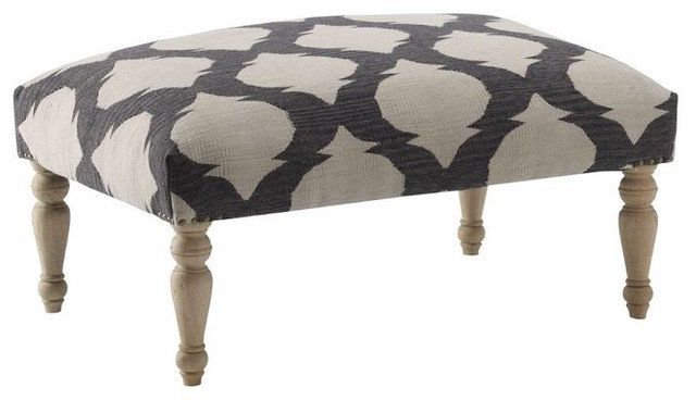 Mediterranean Footstools And Ottomans by West Elm