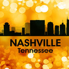 Nashville TN Golden Bokeh  Print - Show off your Nashville pride with this mixed-media artwork. Combining digital and photographic layers, it captures all the charm of the city known for country music, the Grand Ole Opry and Oprah.